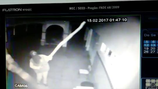 Ladrões arrombam escola e furtam 100 tablets no RN; veja vídeo