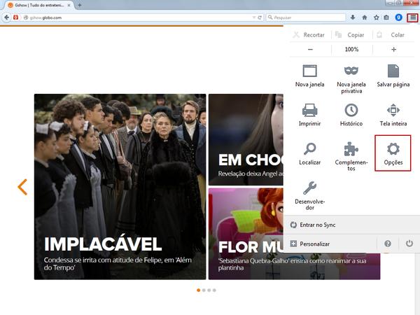 Desbloquear pop-up no Mozilla Firefox (Foto: 01)