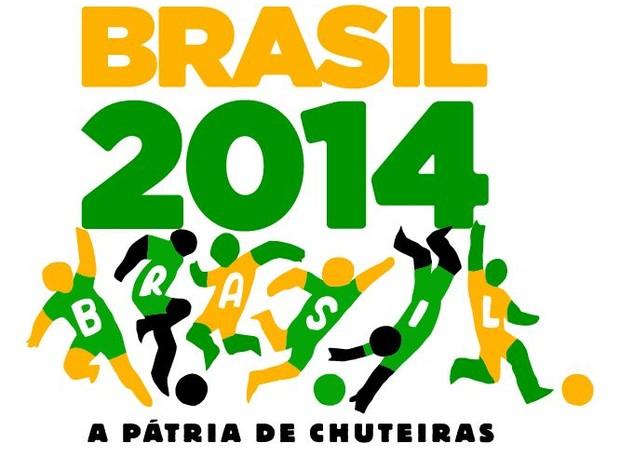 Logo do governo para a Copa do Mundo de 2014 (Foto: Divulgação)