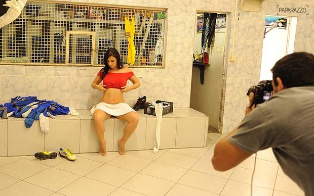 Daniela Cavalieri posa para o Paparazzo (Foto: Luciana Tancredo / Cia da Foto)