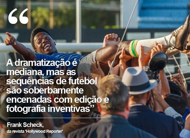 'Pelé - O nascimento de uma lenda': crítica do 'Hollywood Reporter' (Foto: Divulgação)