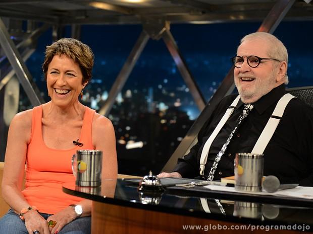 Julia Michaels participa do Programa do Jô desta quinta-feira (Foto: TV Globo/Programa do Jô)