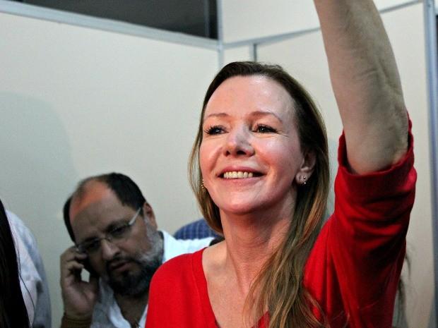 Vanessa obteve 34,05% (311.607) dos votos válidos e ficou em segundo lugar (Foto: Marcos Dantas / G1)