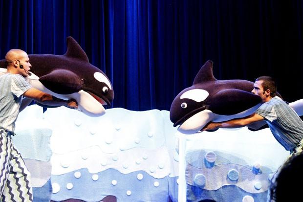 Círculo das baleias, com Pia Fraus (Foto: Divulgação)