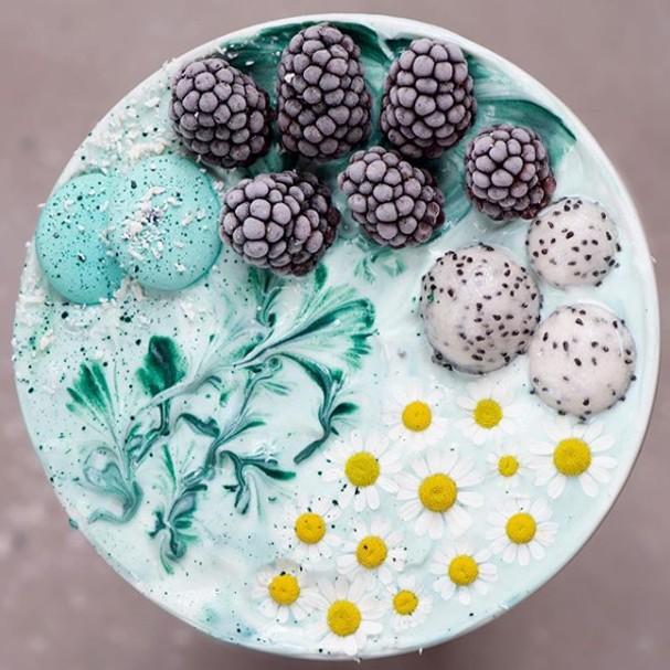 Resultado de imagem para Comida saudável e supercolorida: conheça o trabalho de Samira Kazan