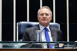 O presidente do Senado, senador Renan Calheiros (PMDB-AL) (Foto: Jefferson Rudy / Agência Senado)
