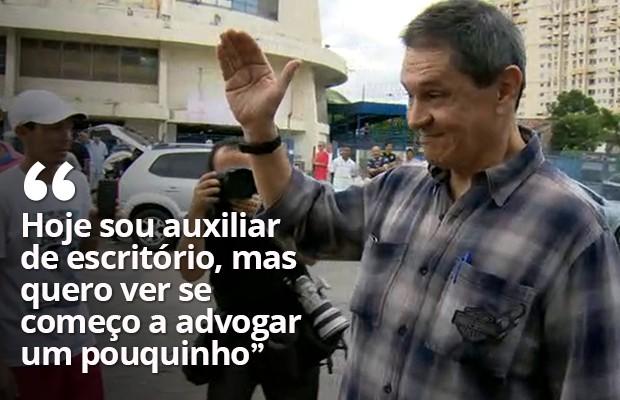 Jefferson quer voltar a advogar (Foto: Reprodução / TV Globo)