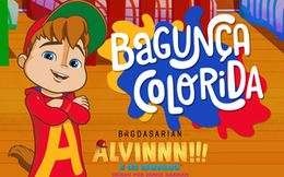 Alvin Bagunça Colorida
