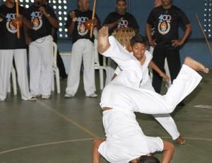 Capoeira nos JEMs 2012 (Foto: Divulgação/Bruno Mendes)