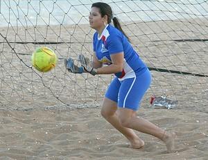 Letícia Lopes, goleira do Geração Sports (Foto: Divulgação/Pauta Livre)