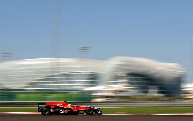 Luiz Razia testou pela VRT, hoje Marussia, em 2010 (Foto: Getty Images)