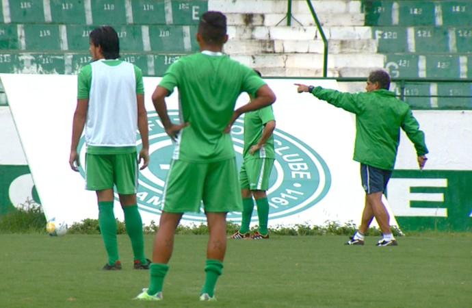 Guarani treino Brinco de Ouro (Foto: Vaner Santos / EPTV)