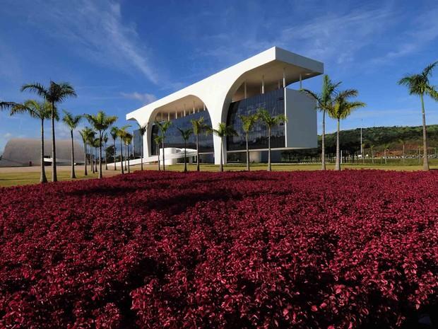 Cidade Administrativa foi inaugurada em março de 2010 (Foto: Carlos Alberto/Imprensa MG)