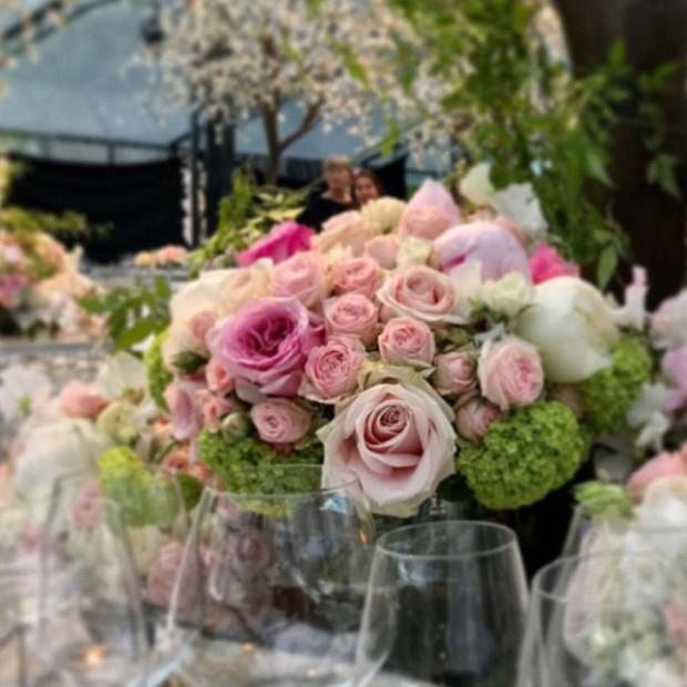 Arranjos de mesa no casamento de Pippa Middleton (Foto: Instagram/Reprodução)