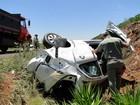 Colisão entre carro e caminhão deixa mortos na BR-158 no Norte do RS