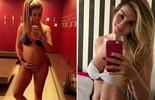 Aline do BBB15 comenta boa forma após gravidez