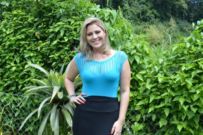 Look da Jessica: apresentadora aposta na tendência do 'Body'  (Foto: Reprodução / TV Diário )