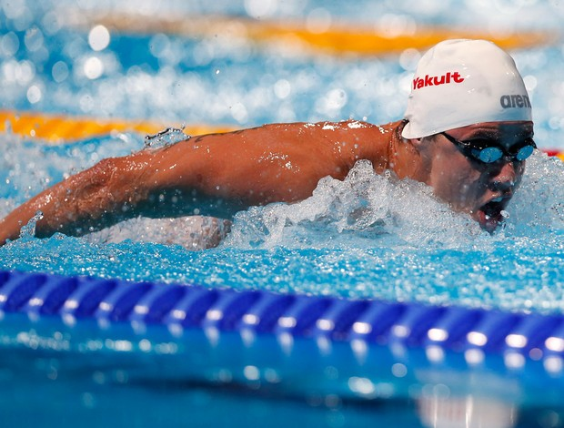 thiago pereira natação barcelona (Foto: AP)