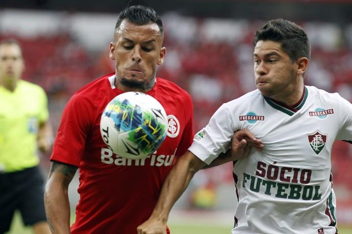 Alemão Osvaldo Fluminense Internacional Primeira Liga (Foto: Nelson Perez/Fluminense FC)