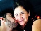 Gusttavo Lima relembra mãe em post: 'Um grande vazio e tristeza sem fim'