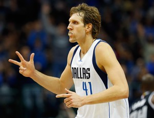 Dirki Nowitzki Dallas Mavericks NBA (Foto: Getty)