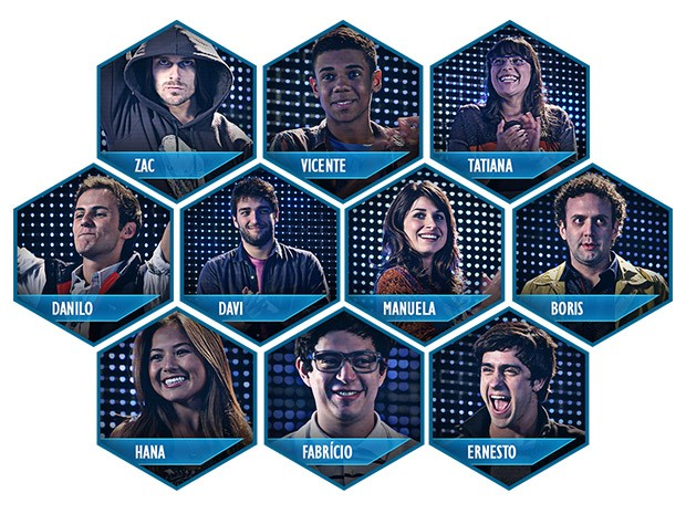 Participantes do CGB (Foto: Parker TV)