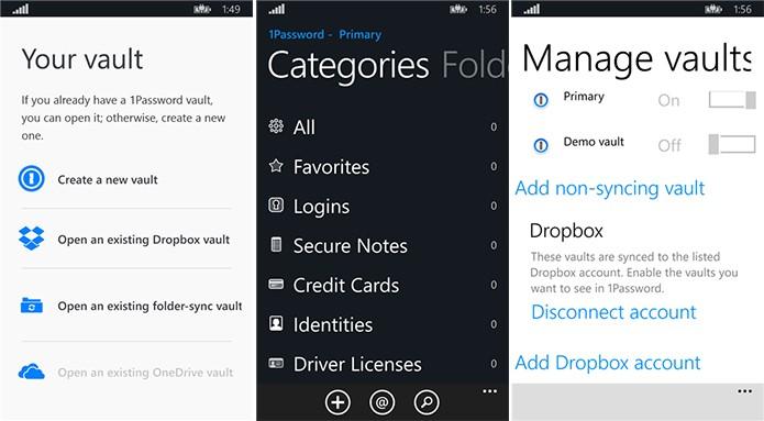 1Password é um gerenciador de senhas para Windows Phone (Foto: Divulgação/Windows Phone Store)