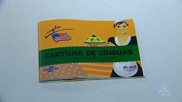 Área da gastronomia lança cartilha de idiomas para o setor (Foto: Bom dia Amazônia)