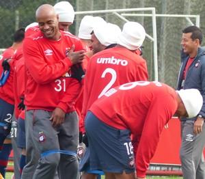 Thiago Heleno Atlético-PR (Foto: Thiago Ribeiro)