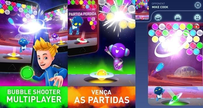 Mars Pop é um game de puzzle com partidas online (Foto: Divulgação)