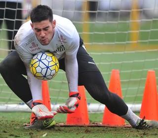 Gabriel Gasparotto Santos (Foto: Ivan Storti / Divulgação Santos FC)