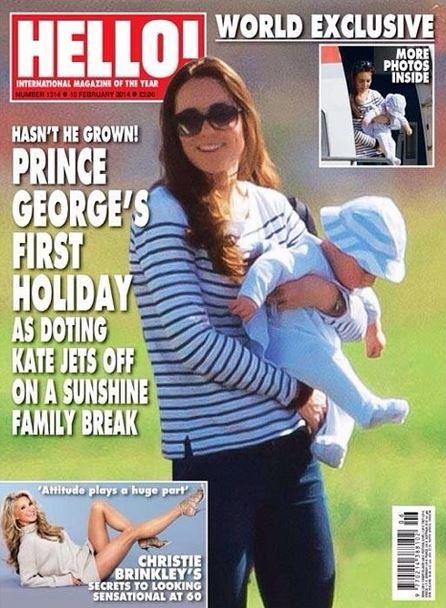 Kate Middleton com o filho, George (Foto: Instagram/Reprodução)