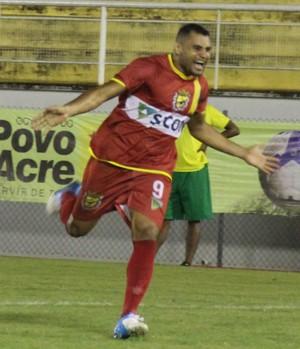 Ferrari, atacante Galvez-AC (Foto: Duaine Rodrigues)