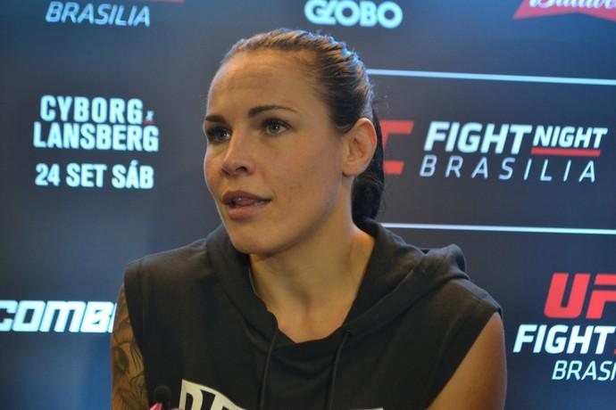 Lina Lansberg UFC Brasília (Foto: Raphael Marinho)