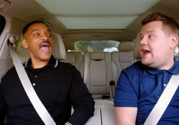 O quadro Carpool Karaoke vai ganhar uma série só sua! (Foto: Reprodução/Youtube)