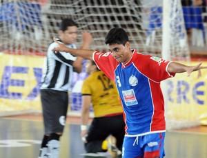 Max foi um dos destaques da partida (Foto: Ascom CBFS)