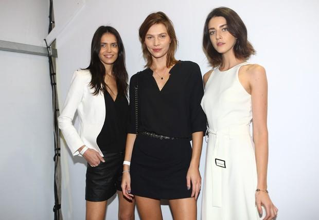 Amanda Wellsh, Aline Weber e Cris Herrmann (Foto: Iwi Onodera / EGO)