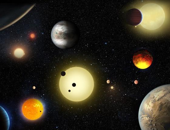 A descoberta mais que dobra do número de exoplanetas já descobertos pelo Kepler (Foto: Nasa/ Divulgação)