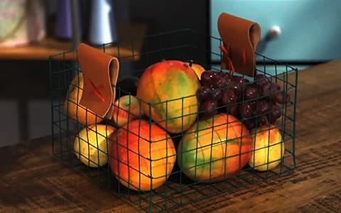 Passo a passo: aprenda a fazer uma cesta de frutas charmosa para organizar a cozinha