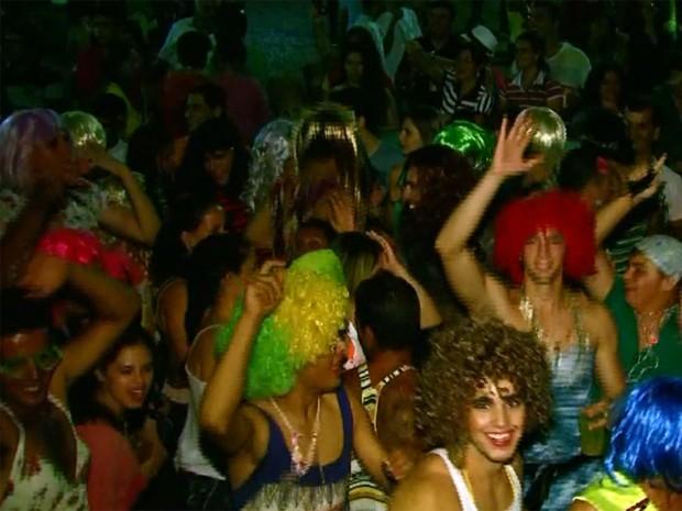 Carnaval de Cássia, um dos mais tradicionais do Sul de Minas, foi cancelado neste ano (Foto: Reprodução EPTV)