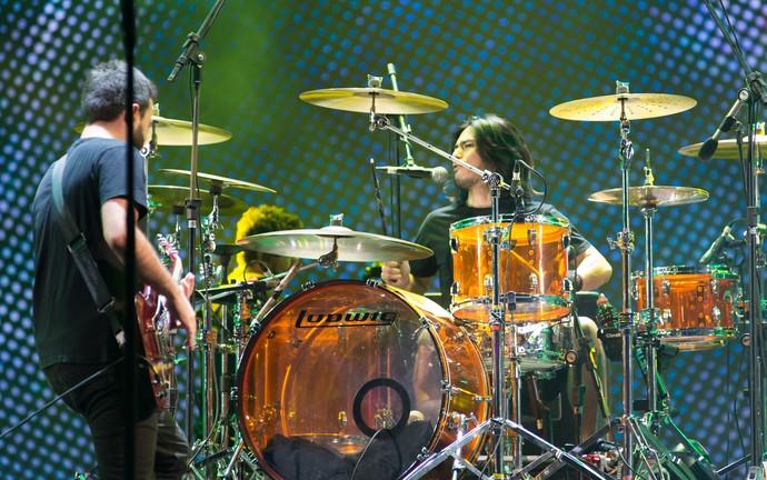 O CPM 22 é uma das bandas mais queridas do festival João Rock em Ribeirão Preto (Foto: Érico Andrade/G1)