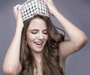 Eduarda Moreira no Miss Brasil  (Foto: Andreson de Deus)
