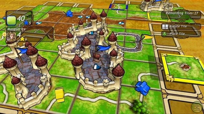 Carcassonne no Xbox 360 (Foto: Divulgação)