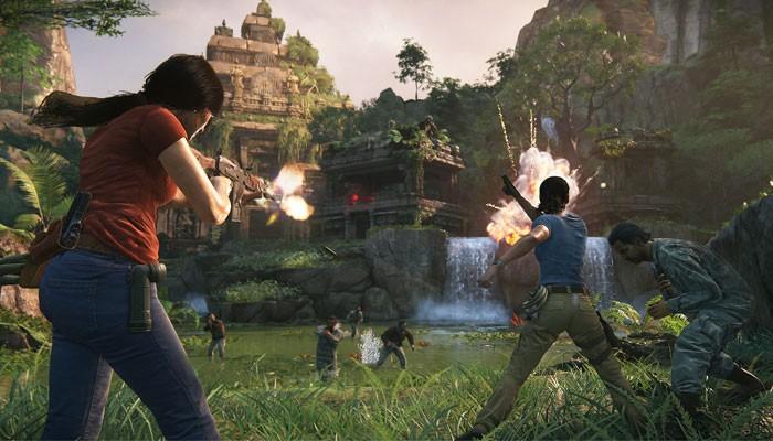 The Lost Legacy também apresenta boas sequências de tiroteios e combates corpo a corpo (Foto: Divulgação)