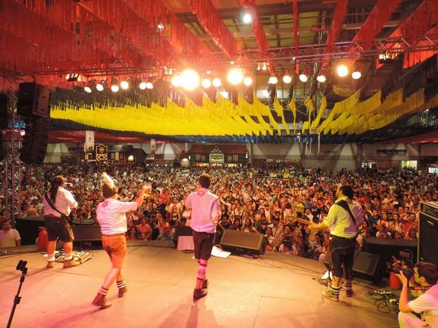 31ª Oktoberfest ocorre no Parque Vila Germânica, em Blumenau (Foto: Jaime Batista da Silva/Divulgação)