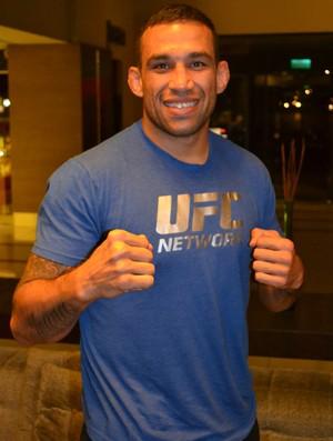 Fabricio Werdum peso-pesado do UFC (Foto: Marcelo Barone)