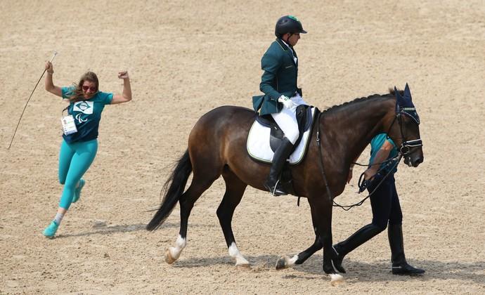 Campeonato Individual misto grau 1a, com cavaleiro Sergio Oliva (Foto: Cleber Mendes/MPIX/CPB)