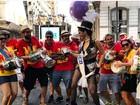 Emanuelle Araújo agita o 'Monobloco' no Rio: 'Ainda é Carnaval'