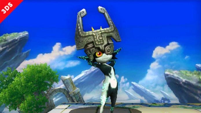 Midna é um dos Assist Trophies de Super Smash Bros. (Foto: Explosion)