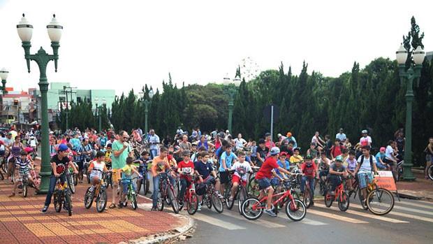 A largada será às 9h da manhã, na Praça Ângelo Darolt, com o apoio da RPC (Foto: Divulgação)